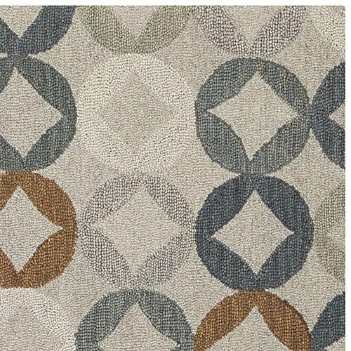 Box & Barrel Destry Wolle handgefertigt Wolle Persischen Stil Bereich Teppiche und Teppich, Multi, 8x10 (244x305cm) - Bereich 8x10 Teppich