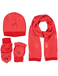 Womens Essential Beanie Giftpack Scarf and Hat, Multicoloured (Corporate Clrs 901), One Size Tommy Hilfiger