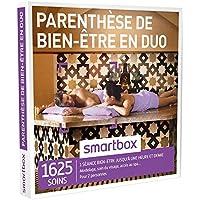 SMARTBOX - Coffret Cadeau - PARENTHÈSE DE BIEN-ÊTRE EN DUO - 1625 soins : Modelage du Corps, soin du Visage, Accès au Spa