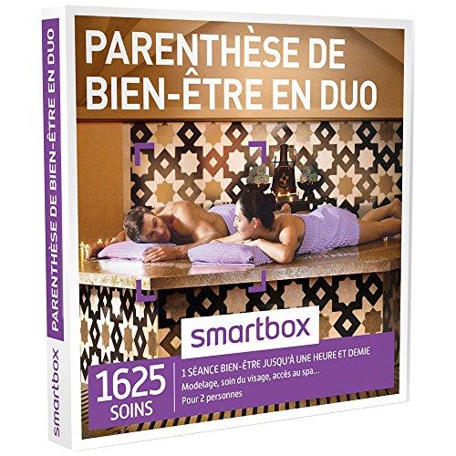 SMARTBOX - Coffret Cadeau - PARENTHÈSE DE BIEN-ÊTRE EN DUO - 1625 soins : Modelage...