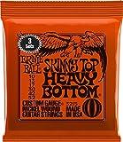 "Ernie Ball 3215 ""10-52 Skinny Top Heavy Bottom"" Nickel Wound Electric Guitar Strings (Pack of 3)"