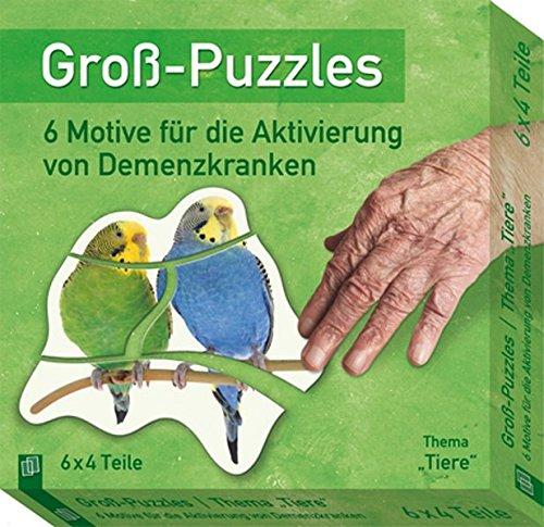 """Groß-Puzzles: Thema Tiere"""": 6 Motive für die Aktivierung von Demenzkranken"""