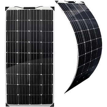 Heimwerker Flexibles Solarmodul Mit Rahmen 160 W Solarpanel Photovoltaik 12v Camping Boot