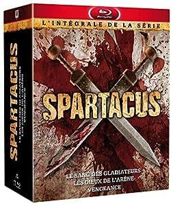 Spartacus - L'intégrale de la série : Le sang des Gladiateurs + Les dieux de l'arène + Vengeance [Blu-ray]
