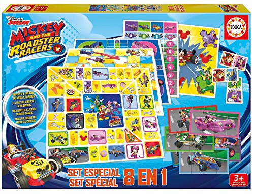 Mickey and the Roadstar Racers Set Juegos 8 1 Mickey