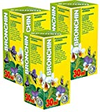 Bronchin Phyto Concentrate Pack Of 3 - 21 Day Course - Natural Plant Extracts - Respiratory Health - Chesty Cough - Bronchitis