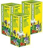 Bronchin Phyto Concentré - Pack de 3 - Cours de 21 jours - Extraits de plantes naturelles - Santé respiratoire - Toux - Bronchite