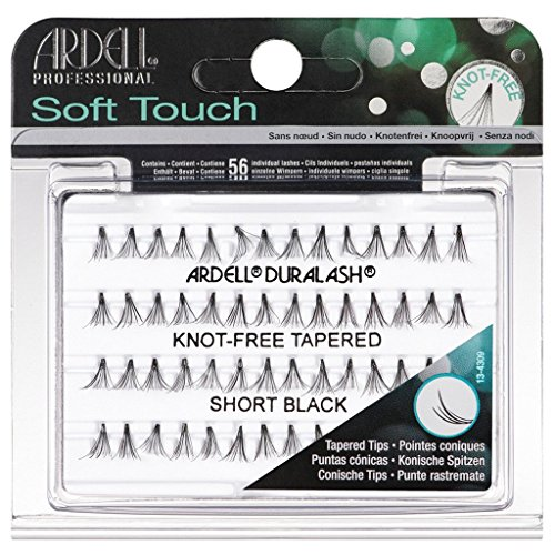Ardell Duralash Soft Touch Knot-Free Tapered Eyelashes - Short Black
