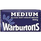 Warburtons Sliced White Bread, 800g