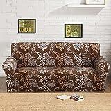 FORCHEER Sofabezug elastische Sofahusse Sesselbezug Stretchhusse Sofaüberwurf Couch Husse mit 4 verschienden Größe ( 1-Sitzer, 90-140cm, Farbe #12 )