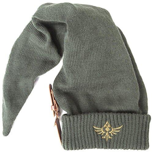 Zelda Mütze mit Schnalle - Alte Kunststoff Kostüm