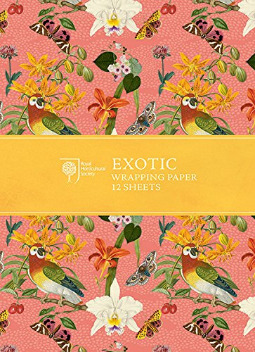 Preisvergleich Produktbild RHS Exotic Wrapping Paper (Rhs Wrapping Paper)