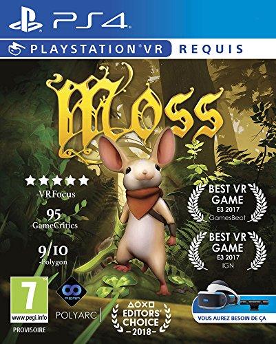 Moss PS4 - PSVR obligatoire [Importación francesa]