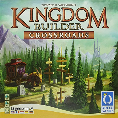 Preisvergleich Produktbild Queen Games 61081 - Kingdom Builder Erweiterung 2: Crossroads, Brettspiel