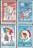Rumänien 4130-4131,4141,4142 (kompl.Ausg.) 1985 Jugend, Sieg, UTC (Briefmarken für Sammler)