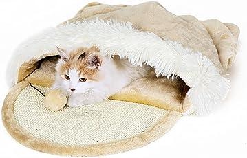 Taoking Katzenhöhle und Bett für Große Katzen Heizung