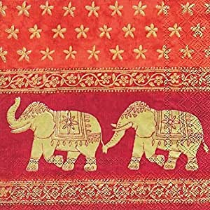 red traditional elephant - photo #10