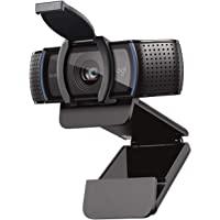 Logitech C920s HD PRO Webcam, Full-HD 1080p, 78° Blickfeld, Autofokus, Belichtungskorrektur, USB-Anschluss, Abdeckblende…