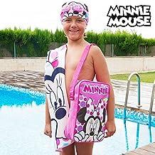 MINNIE - Set piscina, bolso, toalla, gorro y gafas de Minnie Mouse