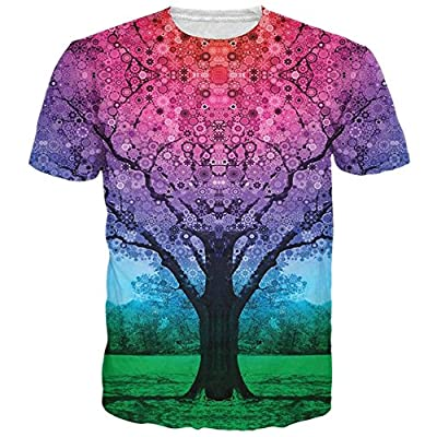 BFUSTYLE Unisex Casual 3d Pattern Printed Short Sleeve T-Shirts Top Tees