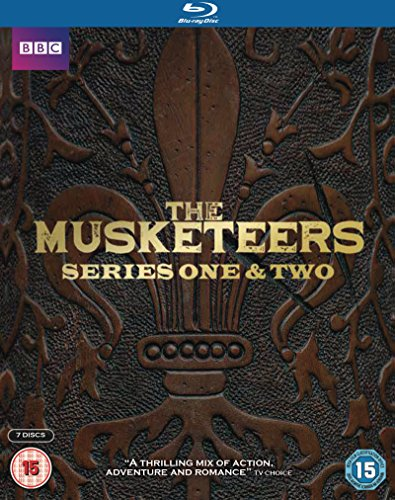 The Musketeers - Series 1+2 [Blu-ray]