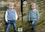 King Cole Jungen Pullover pullunder & Fashion Combo 4630Strickmuster Aran