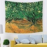 ZLZYY Nordic malerei promi Indische Tapisserie wandbehang künstler Wohnzimmer Schlafzimmer Wohnzimmer Dekoration 211736 150 * 130 cm dick