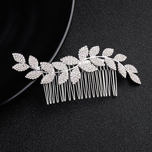 Deniferymakeup cristallo da sposa copricapo da sposa accessori per capelli capelli