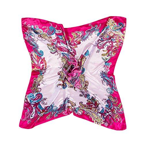 Gemini_mall Damen Schal Gr. One size, rosarot