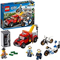 LEGO 60137 City Police Tow Truck Trouble Building Toy