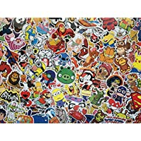 Set of Stickers Cartoon Characters, Hero, Animals, Comics, Super Heroes,Anime, Video Games, Animated Cartoons Waterproof Vinyl Stickers for Kid, Laptop, Bike, Notebook, Luggage, Skateboard, Fun