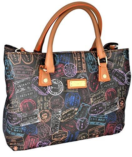 ALVIERO MARTINI Borsa Spalla Tracolla Donna Moka Bag Woman Brown