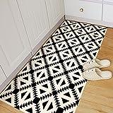 PapiHome Moderne einfache Boden Aufkleber mit selbstklebenden, Originalität entfernbare Kunst Wand Aufkleber Home Dekore Dreieck Muster, 1 Stück für 60 × 120 cm