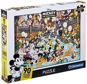 Clementoni 39472 Puzzle 1000 Pieza(s) - Rompecabezas (Dibujos, Niños y Adultos, Mickey Mouse, Mickey Mouse, Niño/niña