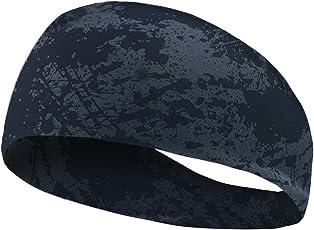 JISEN Unisex Breathable, Cool, Moisture-Wicking Headband for Sports (JIQA-ZH-H026-GB)