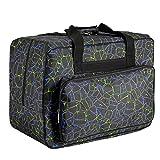 Tasche für Nähmaschine Nähmaschinentasche Nähmaschinen Taschen Tragetasche Universal Schwarz