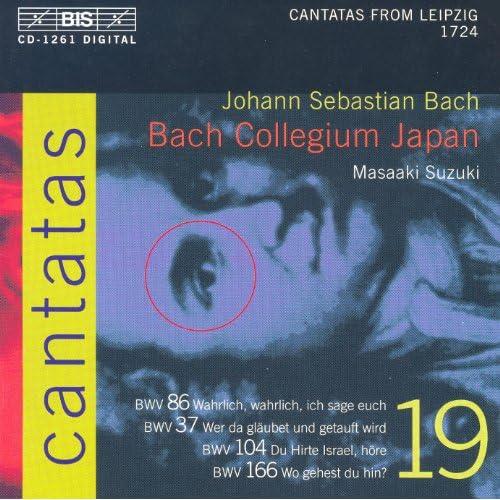 Bach, J.S.: Cantatas, Vol. 19 - Bwv 37, 86, 104, 166