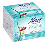Nair - Nourish Salon Divine - Body Wax - Pro-sensitive Complex - with natural Argan Oil - Strip free - 400g