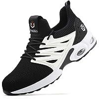 SROTER Chaussures de sécurité Homme Femmes Légèr Respirantes Embout Acier Protection Chaussures de Travail Antidérapante…