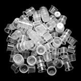 ATOMUS 300Pcs Tattoo Ink Cups Large Size Disposable Ink Cups Tattoo Pigment Caps Holder Container Tattoo Supplies