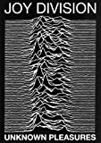 Joy Division punk Maxi Poster Unknown Pleasures Ian Curtis - 60x84 cm by WGTB
