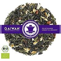 """N° 1220: Tè verde biologique in foglie""""Green Magic (Magia Verde)"""" - 100 g - GAIWAN GERMANY - tè in foglie, tè bio, tè verde dalla Cina, tè cinese, cassia, zenzero, arancia, chiodi di garofano"""