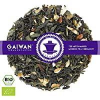 "No. 1220: Organic loose leaf green tea ""Green Magic"" - 100 g (3.5 oz) - GAIWAN® GERMANY - green tea from China, cassia, ginger, orange, cloves"