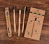 Outdoor Freakz Bambus Zahnbürste - Umweltfreundlich für beste Sauberkeit