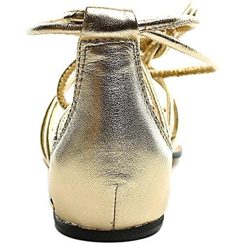 Vince Camuto Adalson Leder Gladiator Sandale Egyptian Gold