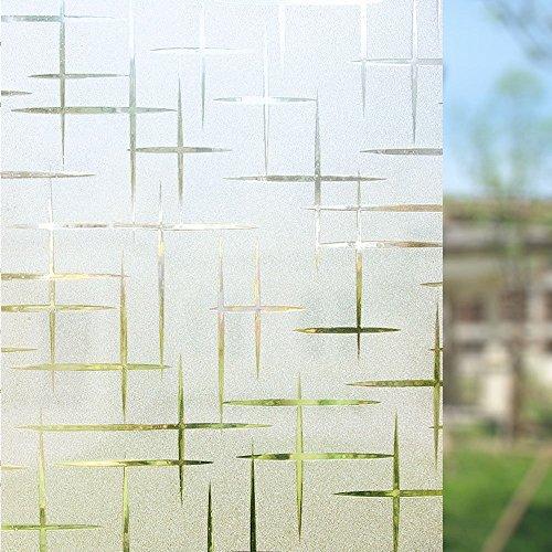 Zindoo Sichtschutzfolie Fenster Fensterfolie Glas Filme Tur Filme