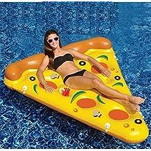 Pizza de enviar la bomba inflable colchón inflable del agua fila flotante cama Banchuang aguas bravas natación isla flotante flotante flotante