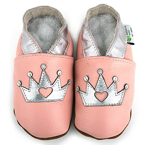 augusta-baby-baby-boys-girls-first-walker-soft-sole-leather-baby-shoes-silver-crown-eu-size-22