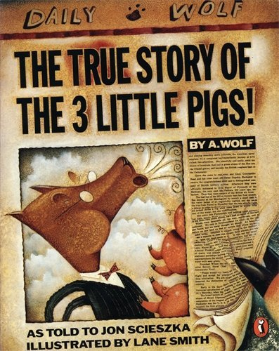 The True Story of the Three Little Pigs (Picture Puffin) by Scieszka, Jon (October 31, 1991) Paperback