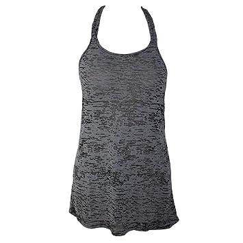 stylische schulterriemen, niedrige kragen, ärmellos, lose komfort strand  rock,schwarz